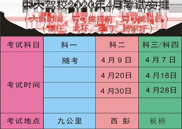 万博manbetx官方app中大万博亚洲软件下载2020年4月考试计划